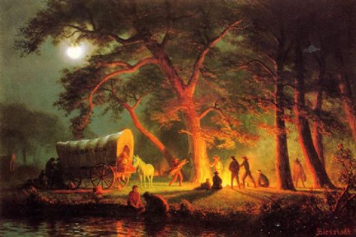 albert bierstadt oregon trail painting