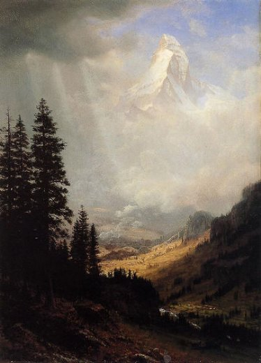 albert bierstadt the matterhorn paintings