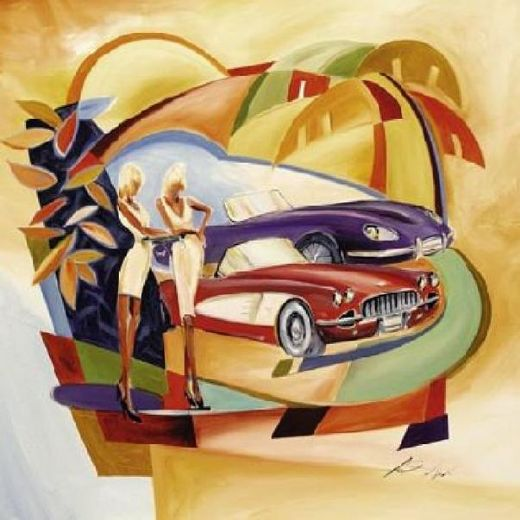 alfred gockel classic cool i painting