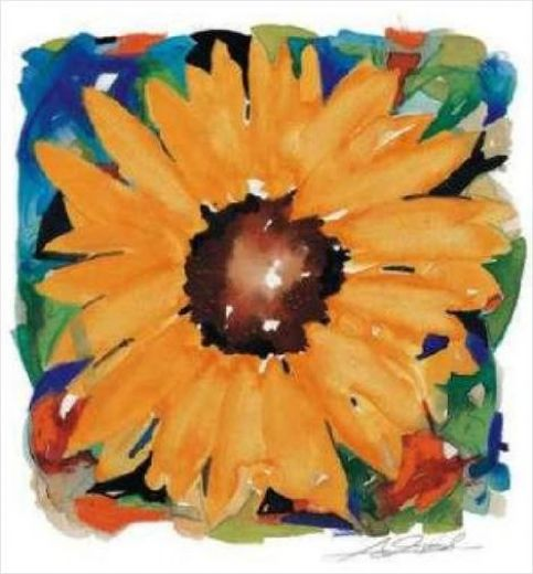 alfred gockel giant sunflower prints