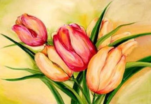 alfred gockel natural beauty tulips ii paintings