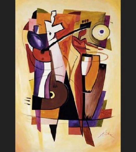 alfred gockel the beat goes on paintings