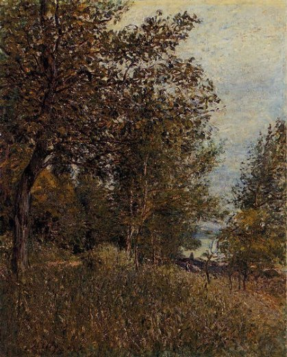 alfred sisley a corner of the roches prints