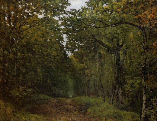 alfred sisley avenue of chestnut trees near la celle painting
