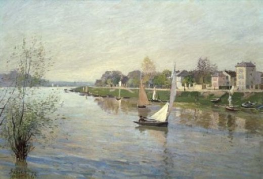 alfred sisley the seine at argenteuil v painting