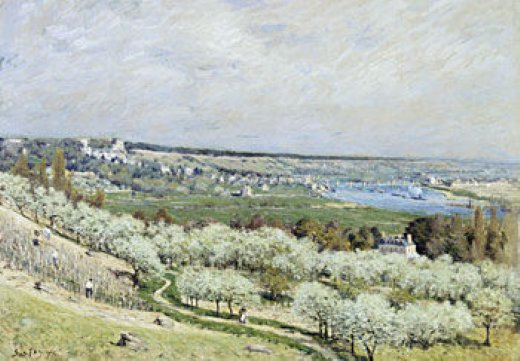 alfred sisleythe terrace at saint Painting-37494
