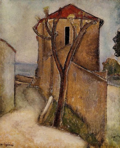 Amedeo Modigliani Landscape In The Midi Painting Amp Amedeo