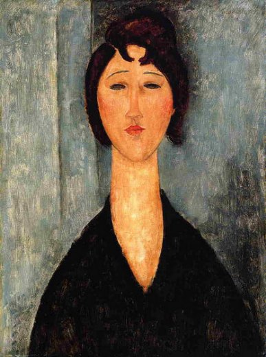 amedeo modigliani portrait of a young woman ii painting