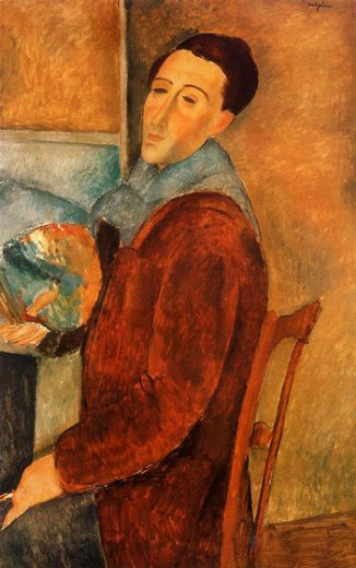 self portrait painting amedeo modigliani self portrait