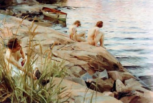 anders zorn out painting