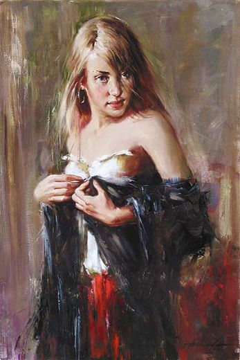 andrew atroshenko first love painting