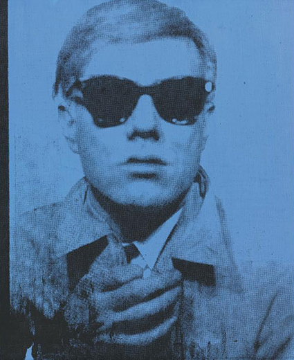 andy warhol self portrait 64 paintings