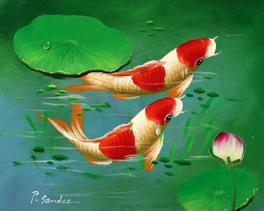 animal underwater world 48 paintings