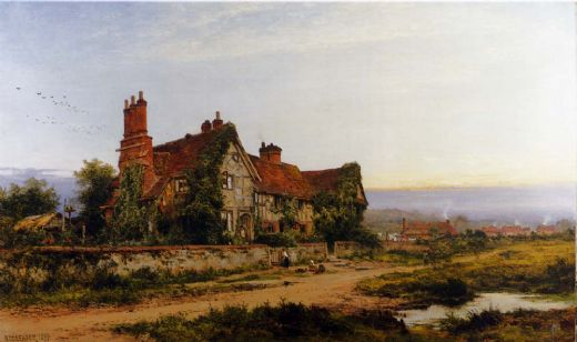 benjamin williams leader an old surrey home paintings