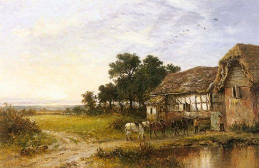 benjamin williams leader returning home paintings