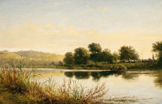 benjamin williams leader streatley on thames paintings