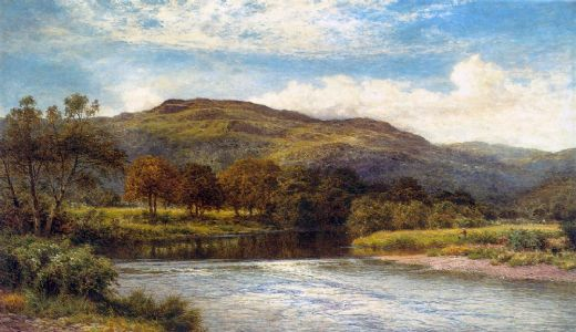 benjamin williams leader the conway near bettws y coed paintings