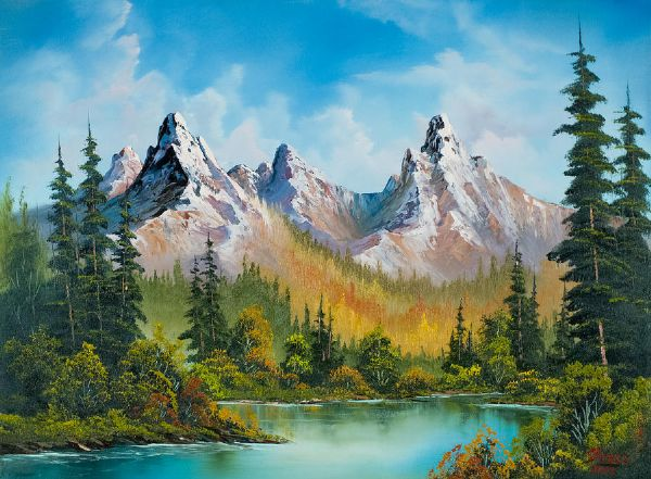 bob ross paintings by - photo #27