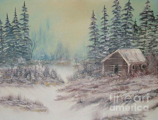 Bob ross impressions in oil painting bob ross for Oil art for sale