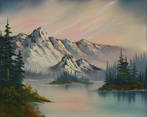 bob ross natures elegance paintings