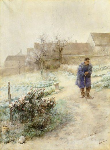 carl larsson november painting