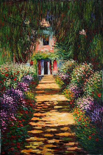Exceptional Claude Monet Garden Path At Giverny Iv Prints