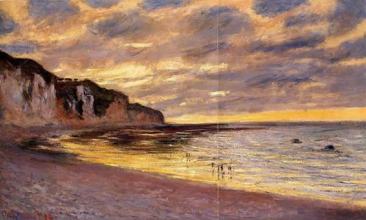 claude monet l ally point low tide paintings