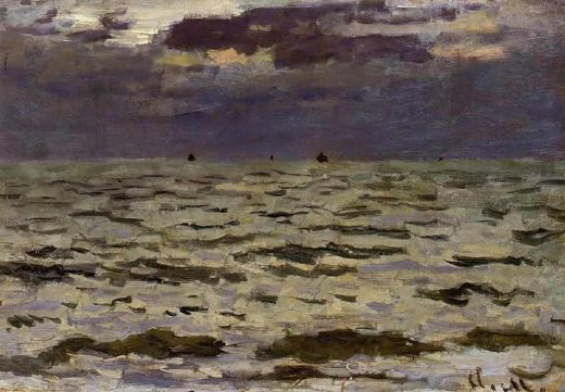 claude monet seascape paintings