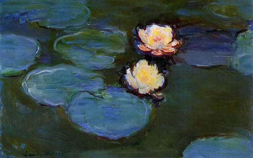 claude monet water lilies 02 painting