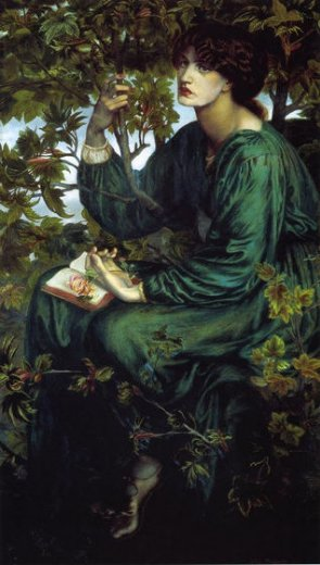 dante gabriel rossetti the day dream ii painting