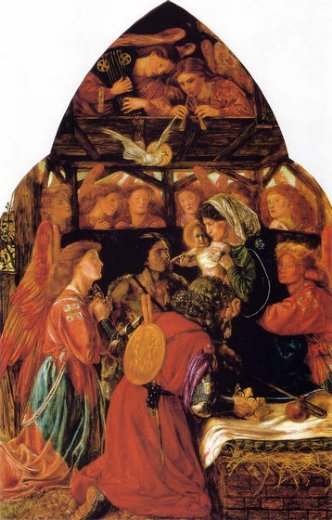 dante gabriel rossetti the seed of david oil painting