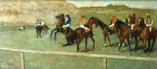 edgar degas before the start i paintings
