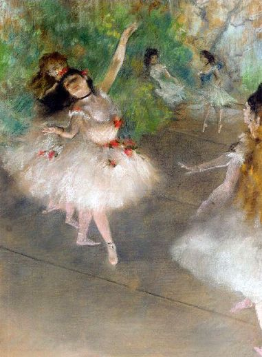 edgar degas dancers paintings