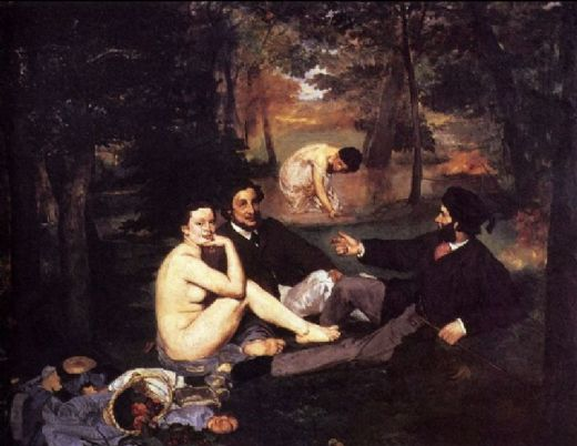 edouard manet the picnic painting