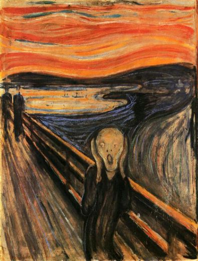 edvard munch the scream paintings
