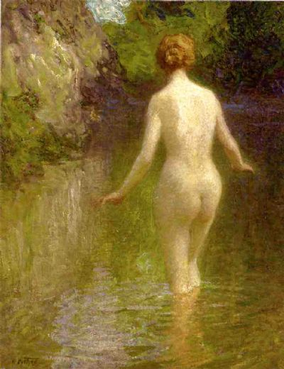 edward henry potthast nude painting