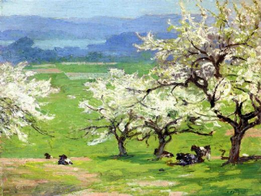 edward henry potthast springtime paintings