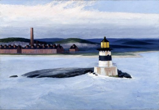 edward hopper five a.m. painting