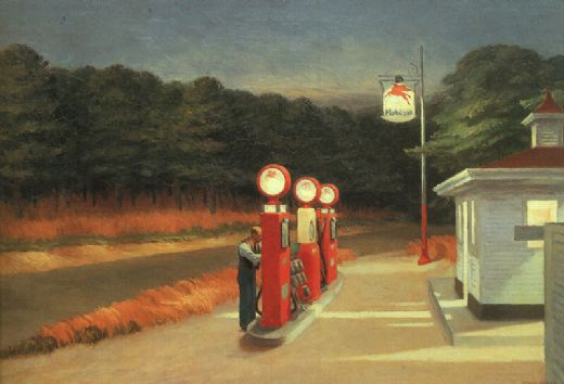 edward hopper gas paintings