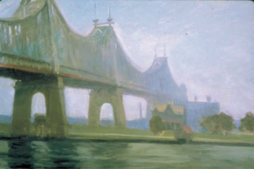 edward hopper queensborough bridge paintings