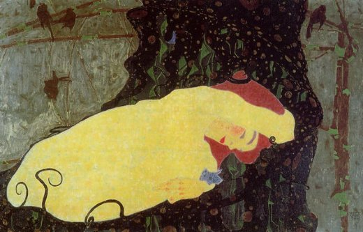 egon schiele danae paintings