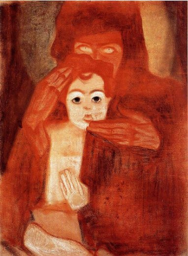 egon schiele mother and child paintings