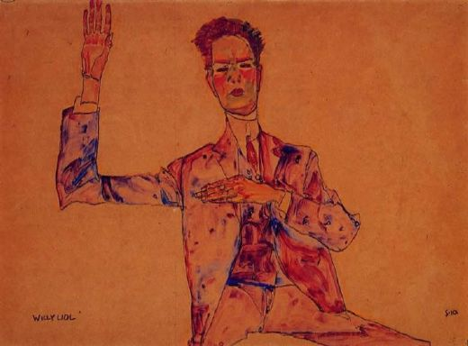 egon schiele willy lidi paintings
