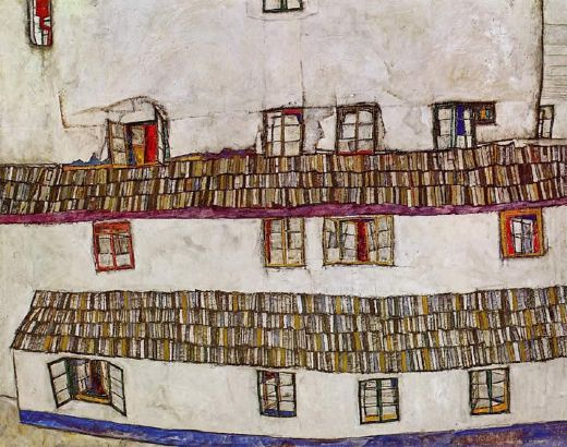 egon schiele windows paintings
