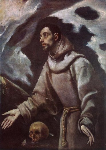 el greco the ecstasy of st francis painting