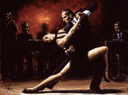 fabian perez tango iv paintings