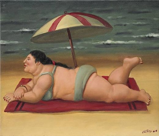fernando botero the beach paintings