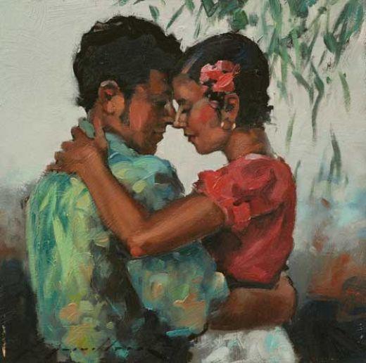 Plesno slikarstvo! - Page 2 Flamenco-dancer-paradise-is-here-81479