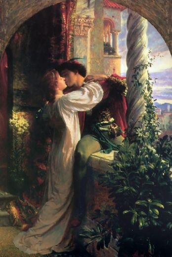 frank dicksee romeo and juliet paintings