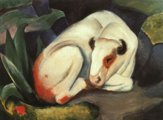 franz marc the bull paintings